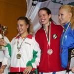 Marigona Mehmeti na 15. Budapest Open