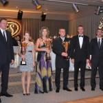 Tánička Pillárová prevzala cenu za svoju sestru Viktóriu