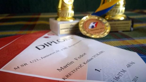 MSR dorastu a juniorov, Trnava, 6.12.2014 1