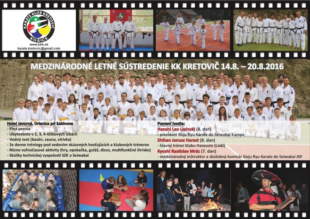 MEDZINÁRODNÉ LETNÉ SÚSTREDENIE 2016 - INTERNATIONAL SUMMER CAMP
