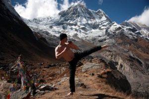 """Miško """"Kavenka"""" v Himalájach v Nepále"""