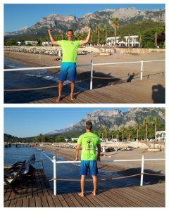 Tréner Kretovič na dovolenke v Turecku